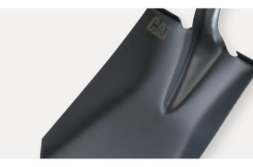 pala de drenaje punta redonda de acero mango d cat k10-106