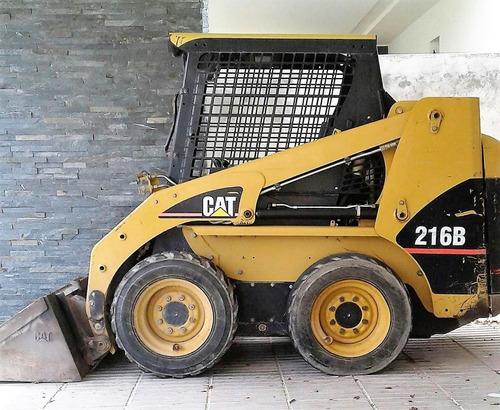 pala mecánica (bob-cat) año 2006 marca caterpillar