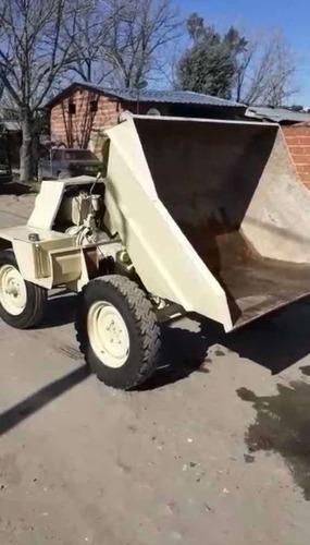 pala minicargadora volqueta bounous diesel hidraulic envios