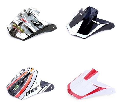 pala para capacete thor quadrant 2 - várias cores