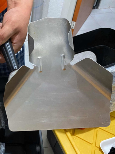 pala para servir papas fritas o a la francesa, acero inox