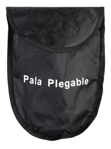 pala plegable de camping diseño portatil con funda reforzada