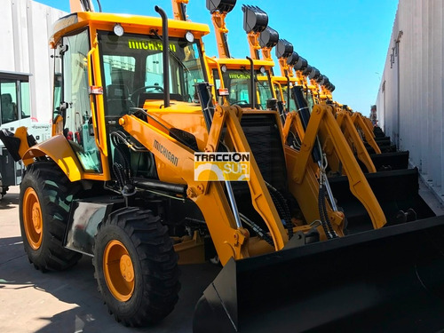 pala retro michigan 100/20 80 hp 4x4 nueva