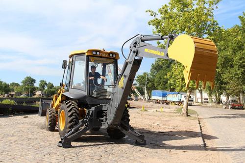 pala retroexcavadora taurus - 70 hp - 4x4 - okm