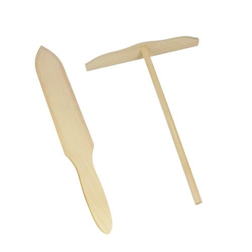 pala y rastrillo para crepas crepes