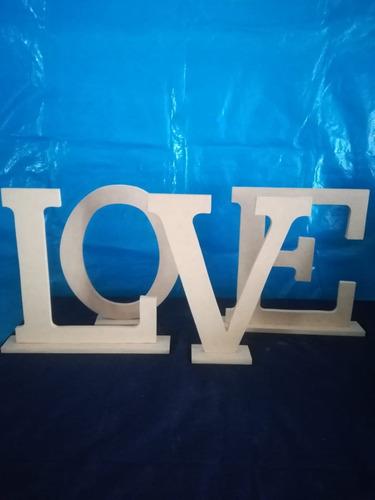 palabra love  vintage 40cm