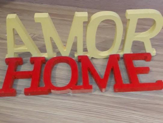 Palabras Decorativas Para Tu Casa - $ 150,00 en Mercado Libre