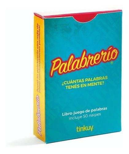 palabrerios - libro juego de palabras 50 naipes didactikids