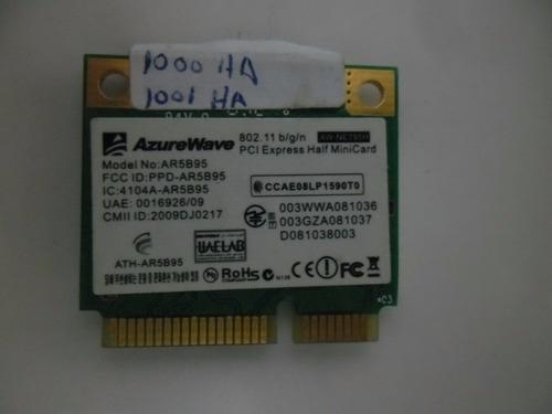 palaca wifi azure wave ar5b95 para netbook asus 1001