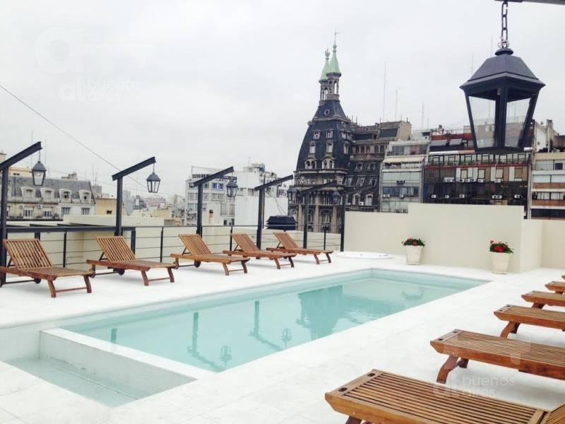 palacio raggio, alquiler, departamento loft, 2 ambientes. piscina!