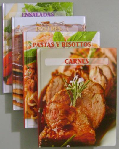 paladar. carnes pastas ensaladas postres 4 tomos - lexus