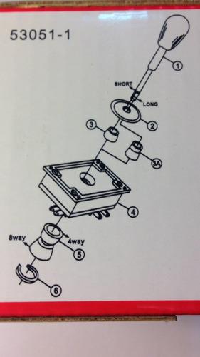 palanca arcade joystick con microswitch para maquinitas