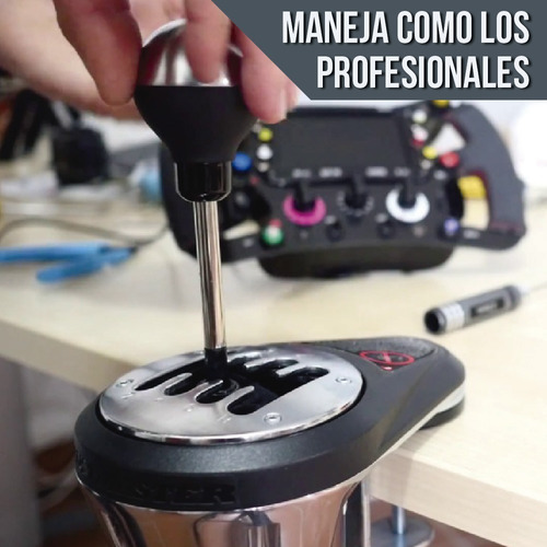 palanca cambios th8a thrustmaster pc ps4 ps3 add on shifter