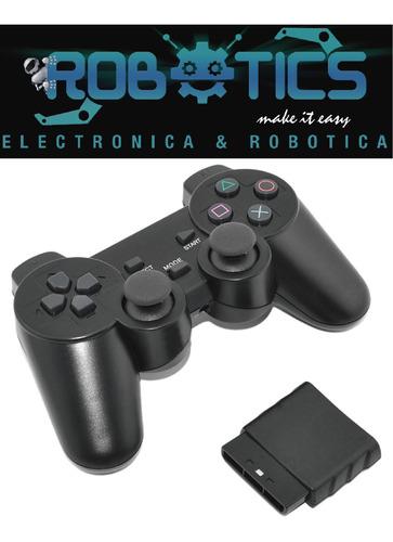 palanca inalambrica control para ps2 playstation 2 arduino