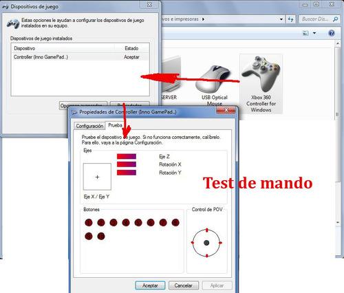 palanca pc xbox 360 -control   pc/xbox360 fat y slim/por usb