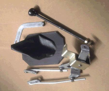 palanca selectora al piso   doble  chevrolet chevy 1969-1978