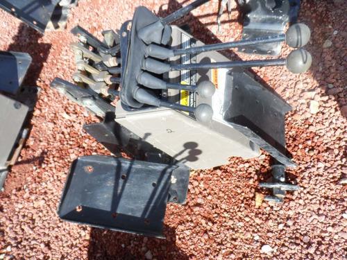 palancas o mando trasero de retroexcavadoras case