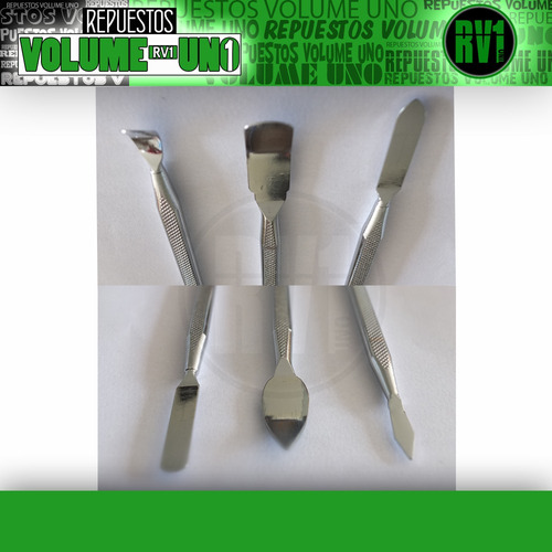 palancas paletas de metal para abrir celulares tablet lapto