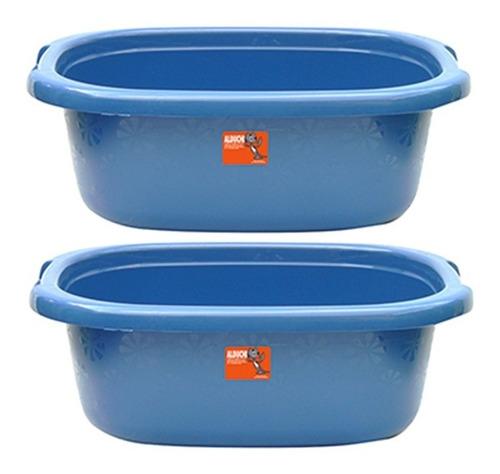 palangana tina  de plástico 2 pz 25 litros incluye envío