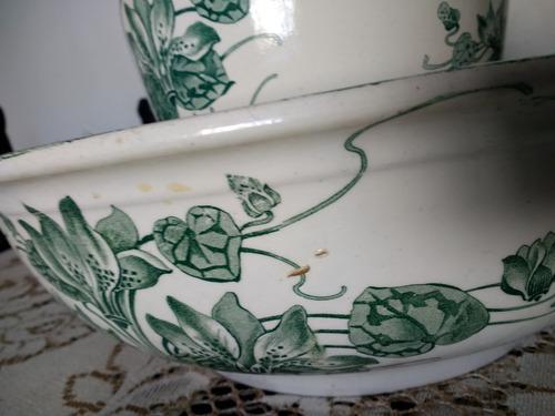 palangana y jarra antiguedad