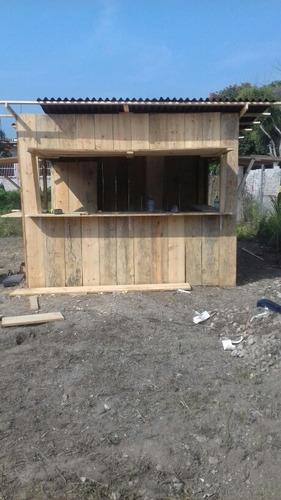 palapas de palama kioscos y casetas de madera