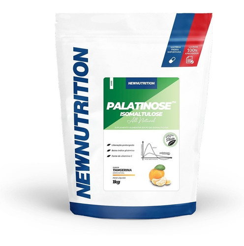 palatinose newnutrition 1kg tangerina