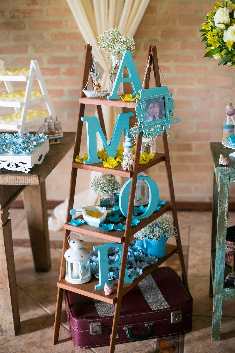 Palavra Amor 86cm Azul Tiffany Turquesa Decoração Casamento - R  74 ... e10cf2e9b4