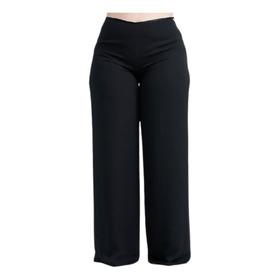 Palazo De Gasa Mujer Dama Pantalon De Vestir