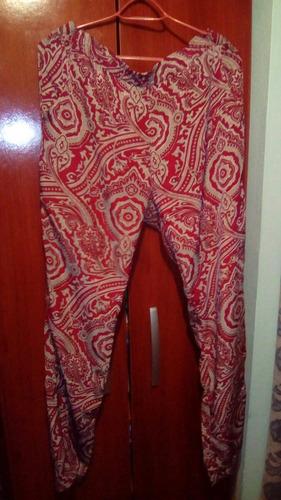palazo recto de seda