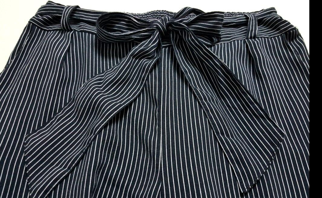 palazzo pantalon a rayas rayado lazo moño zozulka. Cargando zoom. c61ecea98c90