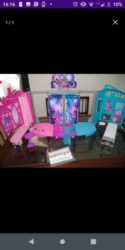 palco da barbie rock star da mattel