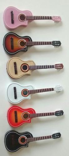 palco miniaturas de instrumentos musicais