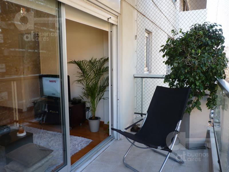 palermo, 3 ambientes c/balcon al frente. a metros de plaza guadalupe