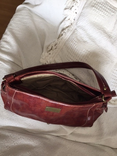 palermo-cartera prune marron rojizo cuero