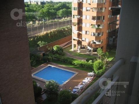 palermo. cómodo loft con balcón. alquiler temporario sin garantías.
