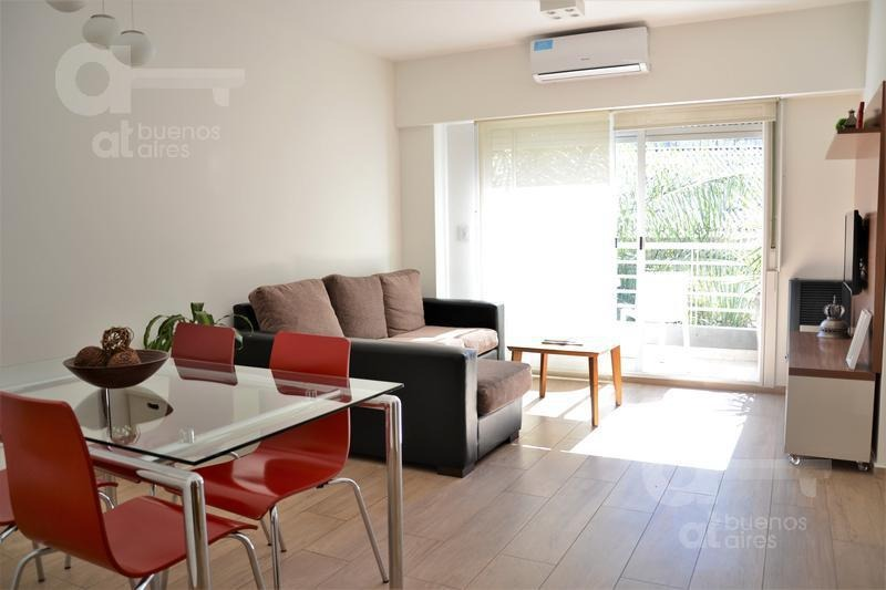 palermo. departamento 2 ambientes con balcón y amenities