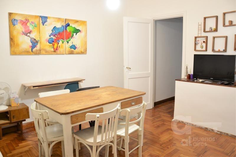 palermo. departamento 2 ambientes con patio. alquiler temporario sin garantías.