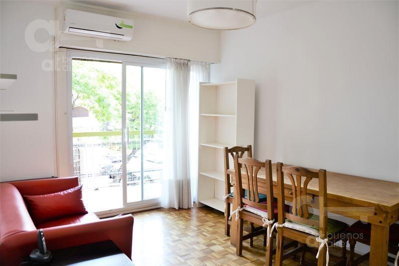 palermo. departamento 3 ambientes con balcón en alquiler temporario.