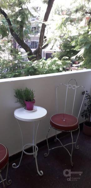 palermo - departamento 4 ambientes al frente con balcón- alquiler temporario-sin garantia