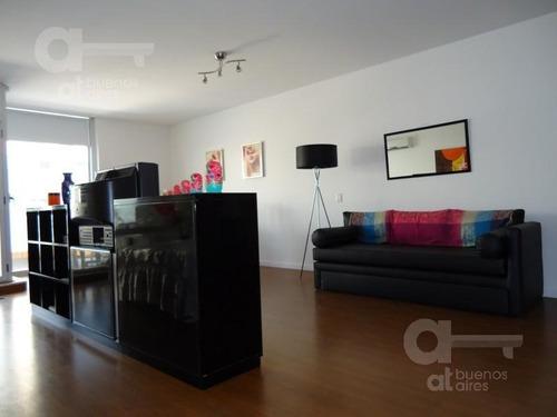 palermo, departamento loft 1 ambiente con balcón terraza, alquiler temporario sin garantía!