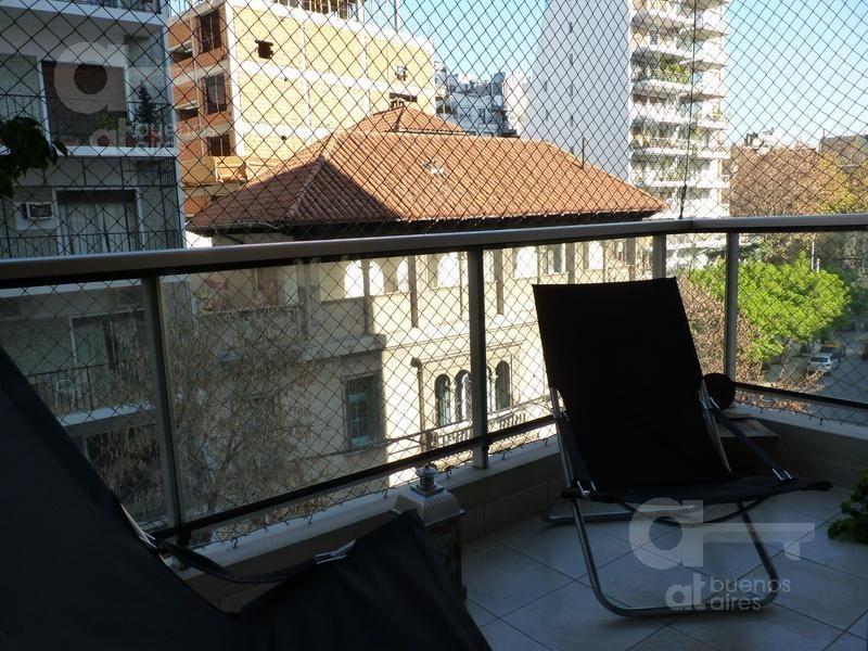 palermo- dpto 3 ambientes c/balcon al frente-amplio y luminoso-  alquiler temporario sin garantía