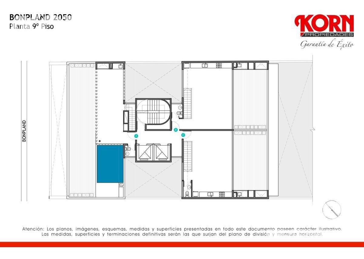 palermo hollywood - departamento en venta 3 ambientes c/balcon terraza - proximo a estrenar