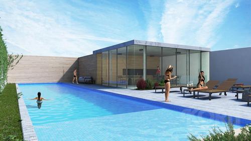 palermo hollywood - departamento en venta de 3 ambientes con patio y jardin - en construccion