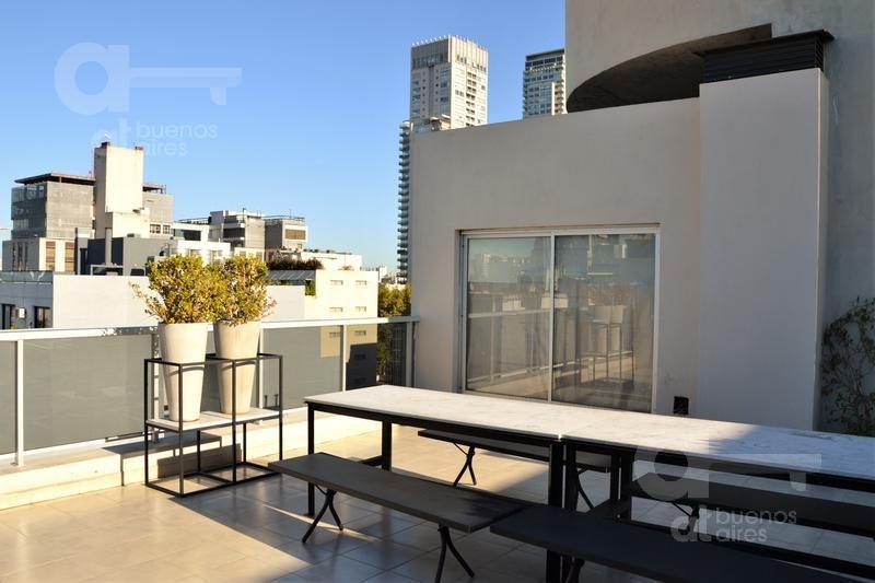 palermo hollywood. moderno loft con patio. alquiler temporario sin garantías.