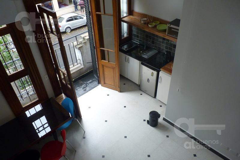 palermo hollywood. ph en duplex con balcón reciclado. lo mejor de palermo!
