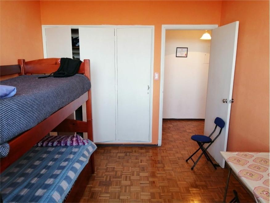 palermo - impecable apto 2 dorm. fte a rambla - 3º piso