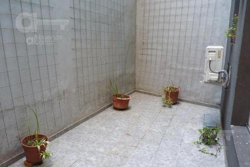palermo. moderno estudio con patio. alquiler temporario sin garantías.