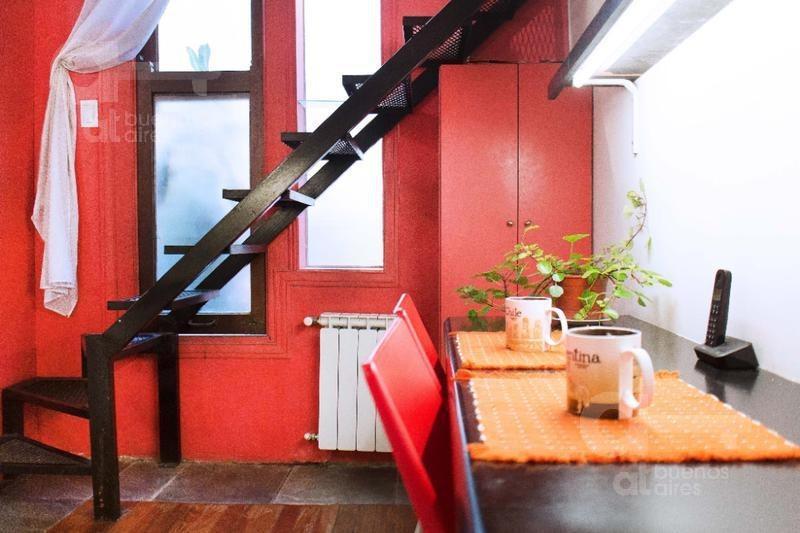 palermo- ph 2 ambientes con patio- alquiler temporario-sin garantia.