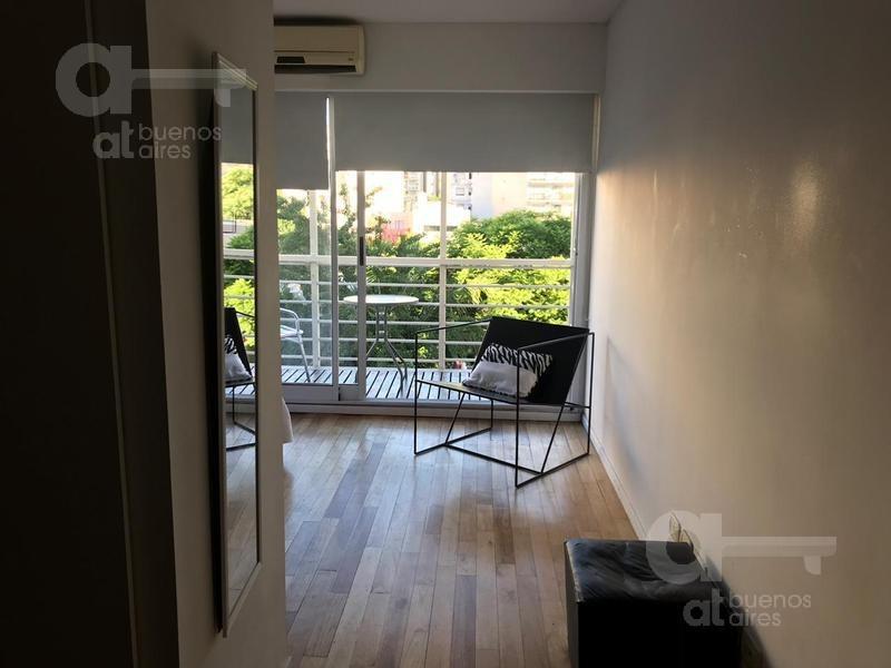 palermo soho. departamento 2 ambientes con balcón y amenities. alquiler temporario sin garantías.