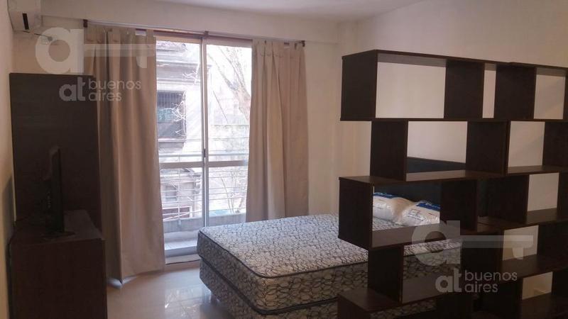 palermo soho. moderno loft con balcón y amenities. alquiler temporario sin garantías.